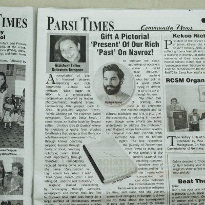 pubblicazione articolo parsi times